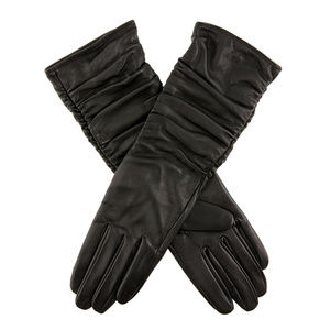 Stella Women's Ruched Leather Gloves